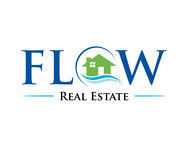Flow Real Estate Logo - Entry #49