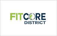 FitCore District Logo - Entry #42