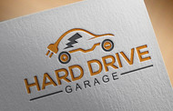 Hard drive garage Logo - Entry #124
