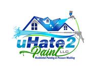 uHate2Paint LLC Logo - Entry #165