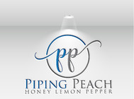 Piping Peach, Honey Lemon Pepper Logo - Entry #19