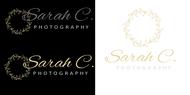 Sarah C. Photography Logo - Entry #167