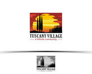 Tuscany Village Logo - Entry #134