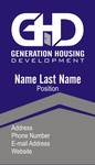 Generation Housing Development Logo - Entry #38