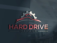 Hard drive garage Logo - Entry #104