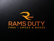 Rams Duty Free + Smoke & Booze Logo - Entry #210