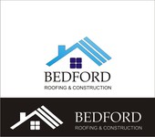 Bedford Roofing and Construction Logo - Entry #97