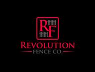 Revolution Fence Co. Logo - Entry #336