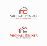 Michael Benner, Real Estate Broker Logo - Entry #122