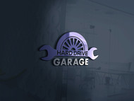 Hard drive garage Logo - Entry #75
