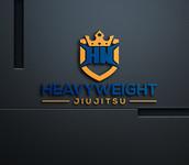 Heavyweight Jiujitsu Logo - Entry #118