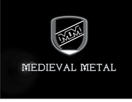 Medieval Metal Logo - Entry #25
