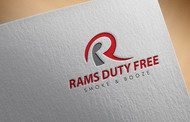 Rams Duty Free + Smoke & Booze Logo - Entry #233