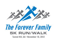 The Forever Family 5K Logo - Entry #34