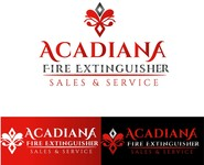 Acadiana Fire Extinguisher Sales and Service Logo - Entry #57