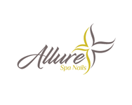 Allure Spa Nails Logo - Entry #83