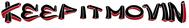 Keep It Movin Logo - Entry #167