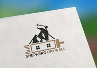 Shepherd Drywall Logo - Entry #153