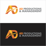 Corporate Logo Design 'AD Productions & Management' - Entry #65