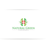 Natural Green Cannabis Logo - Entry #43
