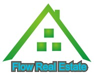 Flow Real Estate Logo - Entry #44