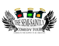 The Semi-Saintly Comedy Tour Logo - Entry #25
