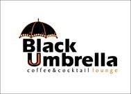 Black umbrella coffee & cocktail lounge Logo - Entry #71