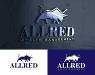 ALLRED WEALTH MANAGEMENT Logo - Entry #940