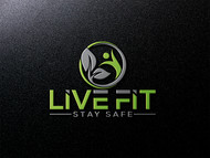Live Fit Stay Safe Logo - Entry #107