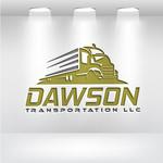 Dawson Transportation LLC. Logo - Entry #90
