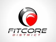 FitCore District Logo - Entry #84