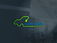 Hard drive garage Logo - Entry #326