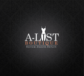 A-List Boutique Logo - Entry #1