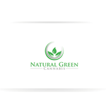 Natural Green Cannabis Logo - Entry #46