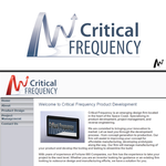 Critical Frequency Logo - Entry #52
