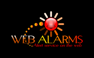 Logo for WebAlarms - Alert services on the web - Entry #66