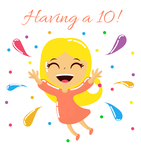 Having a 10! Logo - Entry #49