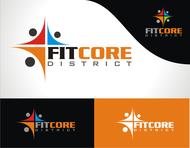 FitCore District Logo - Entry #153