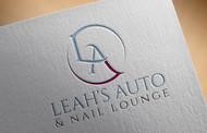 Leah's auto & nail lounge Logo - Entry #70
