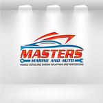Masters Marine Logo - Entry #20
