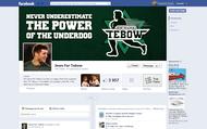 Tim Tebow Fan Facebook Page Logo & Timeline Design - Entry #67