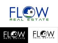 Flow Real Estate Logo - Entry #56