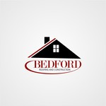 Bedford Roofing and Construction Logo - Entry #113