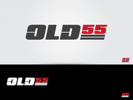 """""""OLD 55"""" - mid-century vintage furniture and wares store Logo - Entry #11"""