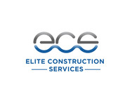 Elite Construction Services or ECS Logo - Entry #337