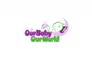 Logo for our Baby product store - Our Baby Our World - Entry #98