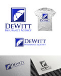 """DeWitt Insurance Agency"" or just ""DeWitt"" Logo - Entry #182"