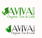AVIVA Glow - Organic Spray Tan & Lash Logo - Entry #10