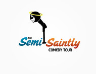 The Semi-Saintly Comedy Tour Logo - Entry #37