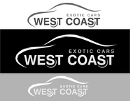West Coast Exotic Cars Logo - Entry #36